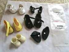 NEW VINTAGE DOLL SHOES MIXED LOT