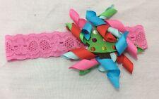Mud Pie Girls Pink Christmas Tree Headband NEW