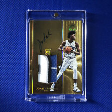 2017-18 Jonathan Isaac Opulence Holo Gold RPA 6/10 #144 Rookie Patch Auto RC