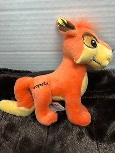 Jakks Neopets Orange Lupe Plushie Plush Toy 2008 Jakks Pacific