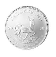 1 Bordo Argento/Silver Sud Africa / South Krugerrand (Kruger) 2018 1 Oncia