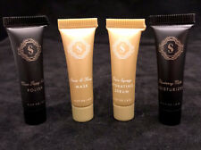 4x Sorella Apothecary Sample Set Polish Mask Serum Moisturizer Size .07 Oz Fresh