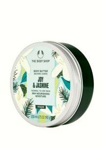 NEW – THE BODY SHOP Joy & Jasmine Body Butter 200ml –96HR MOIST – VEGAN