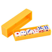 Magic Trick Tapping Loaded Dice Rolls Exact Numbers Toy Prediction Box Props