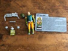 GI Joe Body Part 1990 Captain Grid-Iron         Right Arm        C8.5 Very Good