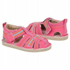 New Robeez Becky Sandals 1st Stepz size 6 us 22 eu Pink Leather Flexiable Sole