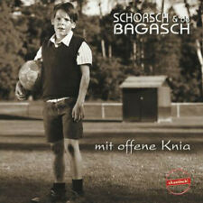 SCHORSCH & de BAGASCH Mit offene Knia CD NEU / Schorsch Hampel / MundArt /Blues