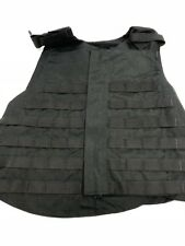 Point Blank Tactical Vest Black MOLLE LE Police SWAT (No Armor Included) S