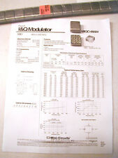 Mini-Circuits Labs MQC-895M I/Q Modulator (demod?) RF Part, NOS REDUCED