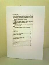 Libro Manual inglés Motosierra copia 5200 y 5800CC Modelo
