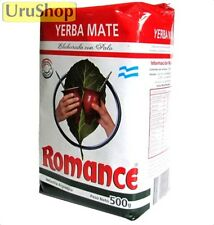 Y63 YERBA MATE ROMANCE 500G TEA ARGENTINA CON PALO