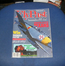 FLYPAST MAGAZINE SEPTEMBER 1989 - GROUP ATTACK TEXANS/AUSTERS IN THE FIELD