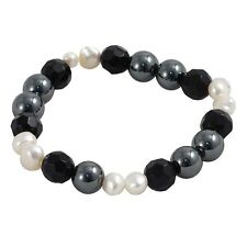 Haematite & Pearl Bracelet