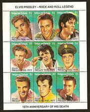 Antigua & Barbuda 1602 Elvis Presley sheet of nine stamps - issued 1992 - mintNH