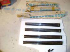 NOS MOPAR 1966 CORONET 500 QUARTER PANEL LOUVER SET (4) NIBS!!! NICE!!!