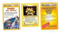 PROMO POKEMON N°  2 ELECTABUZZ (Lot de 2 different version)(Scellés)(Sealed)