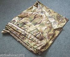 MTP Multicam Camouflage Shelter Sheet  - Basha - Army Bushcraft Tarp - NEW