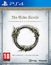 The Elder Scrolls Online - Tamriel Unlimited ~ PS4 (New & Sealed)