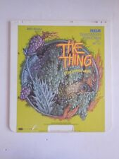 The Thing From Another World    SelectaVision Video Disc    1981