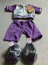 🐻🐻DESIGN A BEAR SPARKLY TRACKSUIT AND SHOES SET BRAND NEW🐻🐻