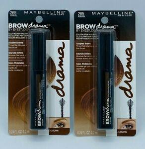 2 X Maybelline Brow Drama by EyeStudio Sculpting Brow Mascara-265 Auburn