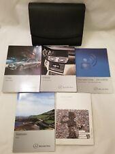 New listing 2014 Mercedes Benz C class owners manual Oem books set 14 C250 C300 C350 C63 Amg