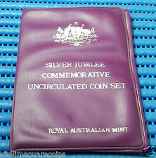 1977 Australia Silver Jubilee Commemorative Uncirculated Coin Set