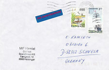 DANISH FERRY SHIP MF HAMLET A SHIPS CACHED COVER