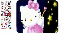 Hello Kitty Magic Wand and Stars Mouse pad Hello Kitty 3-D Stickers, HK:MP-14