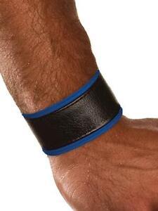 Colt Studio Lederarmband Leder Armband Blau Herren Sexy Leather Blau