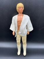 "Luke Skywalker Star Wars 12"" Vintage Action Figure Kenner 1978"