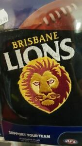 Brisbane Lions Car Headrest Cover Pkt of 2