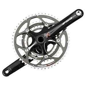 FSA SLK MegaExo Triple Carbon 9Spd Road Bike Crankset  53/39/30T, 175mm