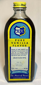 Antique Marion - Kay Vanilla Extract 4.5 oz Glass Bottle With Extract