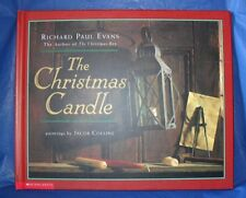 """""""THE CHRISTMAS CANDLE""""   HARDBACK BOOK BY: RICHARD  EVANS  """"LIKE NEW CONDITION"""""""