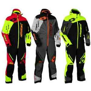 Castle X Freedom Back Country Mens Parkas Shell Snowmobile Monosuit