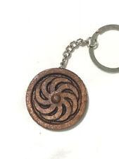 Handmade in Armenia - New Armenian Eternity Wood Keychain -