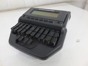 Stentura 8000LX Stenograph Court Reporting Steno Machine