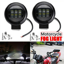 2x 5'' inch Round LED Work Light Spot Front Fog Roof For Jeep Offroad Motorcycle