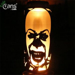 Pennywise The Clown Beer Can Lantern! Stephen King's IT, Tim Curry, Unique Gift