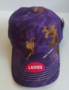 REALTREE Ladies Purple Passion Hunting Adjustable Baseball cap