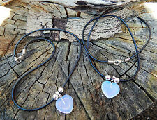 Moonstone Hearts Necklaces and Pendants