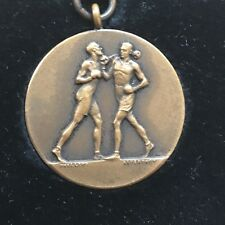 Antique Military Boxing Medal Winner 1938 Ep Williams