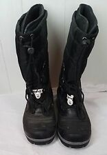 Ranger Mens 12 M Black Rubber Insulated Winter Snow Boots