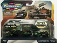 Micro Machines PROTECTION FORCE / COMMAND CENTER 5 Pack Cars Series 2 Chopper