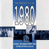 Various Artists - The Greatest Hits of 1980 (CD) (1992)