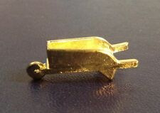 Monopoly Deluxe Edition Replacement Token Gold tone Wheel Barrel