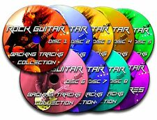 130 GREATEST ROCK GUITAR BACKING TRACKS & TABS TABLATURE JAM TRACKS CD SONG BOOK