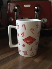 Collectible 2015 Manchester Christmas Markets Ceramic Mug - Red and white