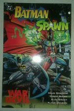BATMAN SPAWN WAR DEVIL graphic novel chuck dixon alan grant vf 8.0 condition tpb